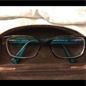 Coach HC6040 Brooklyn Eyeglasses / tortoise/teal